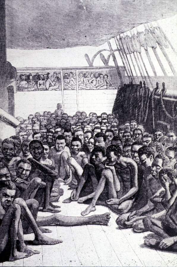 horrors of a slave ship 16072018 for weeks, months, sometimes as long as a year, they waited in the dungeons of the slave factories scattered along africa's western coast they had.