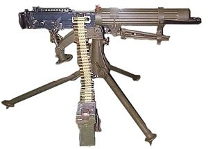 how did machine guns effect ww1